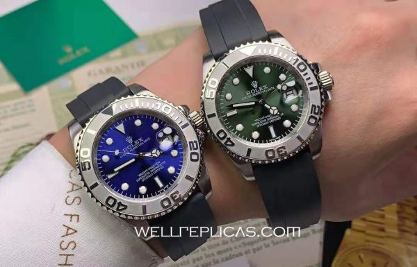 Rolex Yacht-Master Men Folding Buckle Automatic Movement Two-Tone Dial