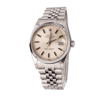 Rolex Swiss Replica Watches Rolex Datejustl 16000 Silver Dial