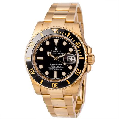 Rolex Knockoff Rolex Gold Submariner 116618