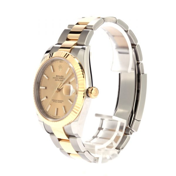 Replica Watchrolex Datejust 41 Ref 126333 Two Tone Oyster