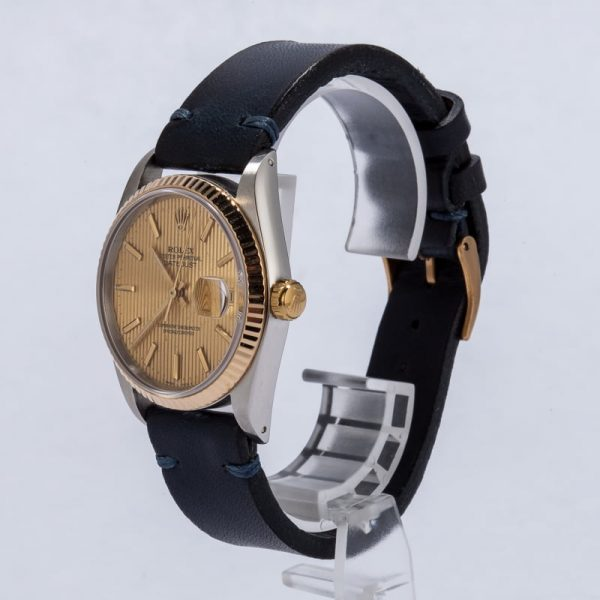The Best Replica Watchespre Owned Rolex Datejust 16233 Leather Strap