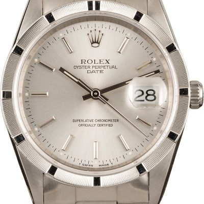 Replica Rolexrolex Date 15210 Stainless Oyster