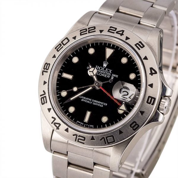 Replica Rolex Explorer 16550 Black Dial